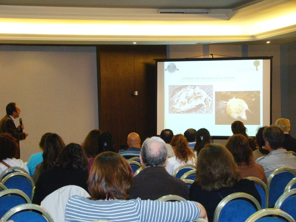 Conférence Gestion des Déchets au Salon du Livre de Beyrouth - T.E.R.R.E.Liban