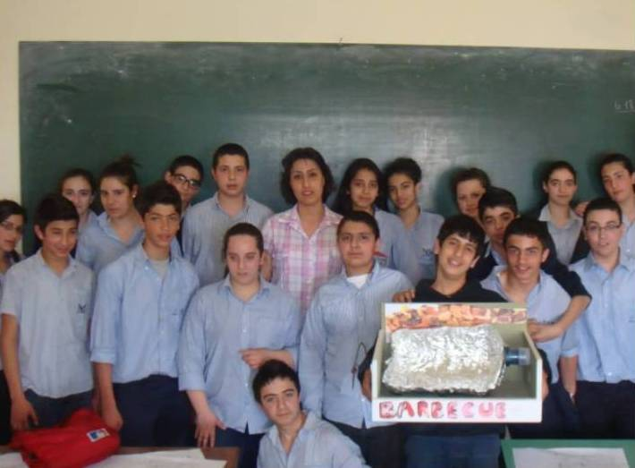 L'environnement en danger et la classe EB8 du Lycée Moderne