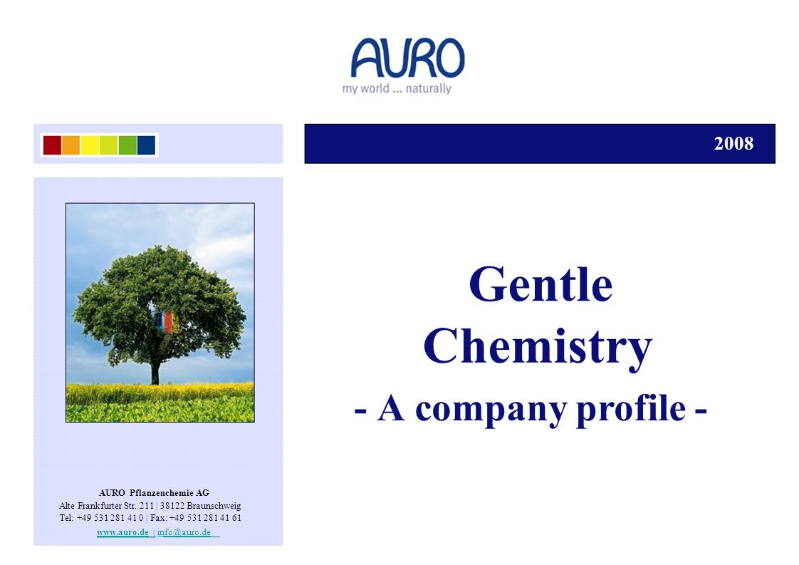 Auro - Gentle Chemistry